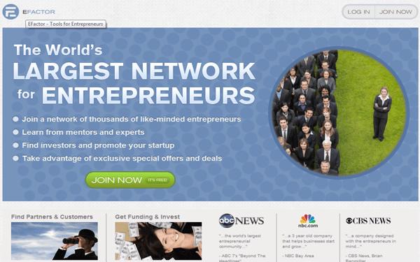 efactor Business Network for Entrepreneurs