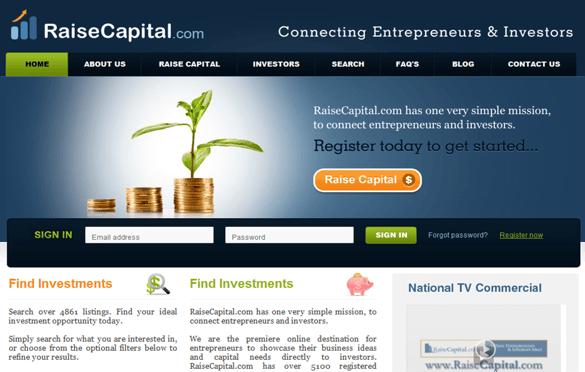 RaiseCapital Funding Platform